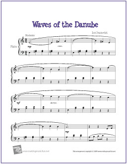 waves-of-the-danube-piano